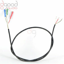 Sheilded Stereo Tonearm Wire 400mm / 1.2 MM Will Fit 1.10~1.25MM cartridge pins