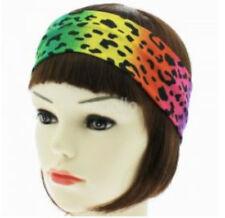 Unisex Gay Pride Rainbow Colour Leopard Print Headband - Brand New