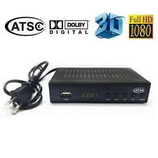 New HD 1080p Digital Terrestrial Receiver Box ATSC TV Tuner Kit MPEG2/4 H.264