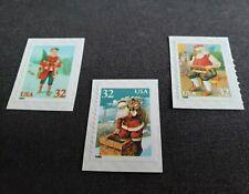 EFO Selection 3 Error Stamps Christmas 32c color shift misregistration MNH