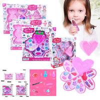 Princess Pretend Makeup Set Kit Toy Girls Kids Play Cosmetic Eyeshadow Lip Gift