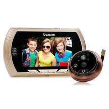 Danmini 4.3'' Screen 3MP Night Vision Door Peephole Viewer Doorbell Camera Gold