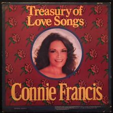 Connie Francis - Treasury Of Love Songs - EX/VG++ Vinyl LP