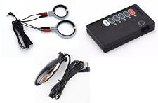 D-A-P @ 2 X Anneau Électrodes + Anal Sonde + Câble + Appareil,