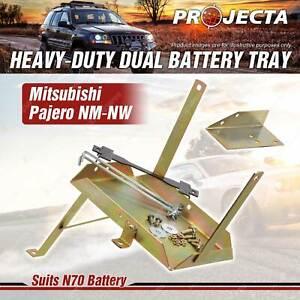 Projecta HD Dual Battery Tray for Mitsubishi Pajero Pajero NM NP NS NT NW