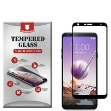 For LG Stylo 5 Full Edge Tempered Glass Screen Protector Bubble Free Cover