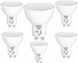 6W GU10 LED Bulbs Spotlight Lamps Warm Cool Day White Down lights 240V