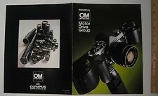 Photography Reference Guide For The Olmpus OM System Motor Drive Group Pub #C08E