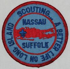 Nassau Co & Suffolk Co Councils (NY) Joint Event Pocket Patch  BSA