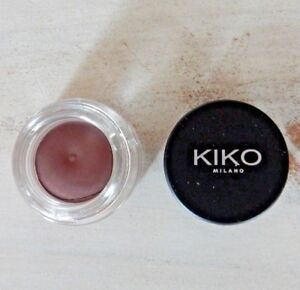 KIKO Milano Cream Crush Lasting Color Eyeshadow Matte Light Mahogany 03 Brown