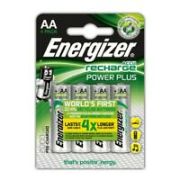 4 x Energizer AA 2000mAh NiMH Pre-Charged Rechargeable  Batteries - HR6 MN1500