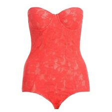 ZIMMERMANN RISING LACE LINGERIE IN SCARLET SIZE 2 OR SIZE 12 RRP