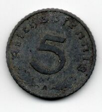Germany - Duitsland - 5 Pfennig 1940 A