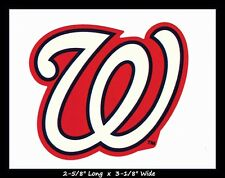 WASHINGTON NATIONALS BASEBALL MLB DECAL STICKER TEAM LOGO~BUY 1 GET 1 30% OFF