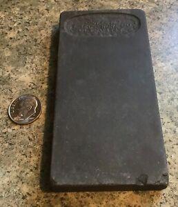 Vintage Estate Find Allen Razor Hone Co. Olean N.Y. Knife Sharpening Stone