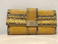 Preloved Authentic Jimmy Choo Long Wallet Yellow