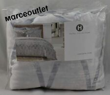 Hotel Collection Dimensional KING Duvet Cover Silver