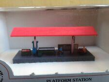 Bachmann N Scale Railroad Buildings, 55-7406 Platform Station