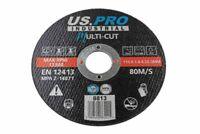 10 X Multi-cut Cutting/Slitting Disc Ultra thin 115 mm X 1 mm INOX STONE TILES