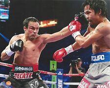 MANNY PACQUAIO vs JUAN MANUEL MARQUEZ 8X10 PHOTO BOXING PICTURE