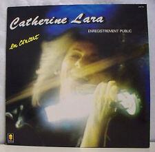 """33 tours CATHERINE LARA Disque Vinyle LP 12"""" EN CONCERT - TREMA 310.171"""
