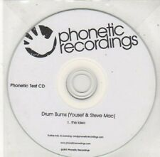 (BY751) Drum Burns (Yousef & Steve Mac), The Idea - Test CD