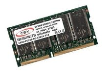 512MB RAM SDRAM PC133 Apple PowerBook G3 3,1 2000 2001 SODIMM CSX Markenspeicher