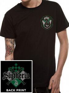 HARRY POTTER- HOUSE SLYTHERIN Official T Shirt Mens Licensed Merch New
