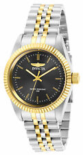 Invicta Women's Watch Specialty Charcoal Dial Two Tone Bracelet 29400