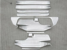 For Toyota Highlander 2015-2017 8cps Stainless Door Sill Scuff Plate Guard Board