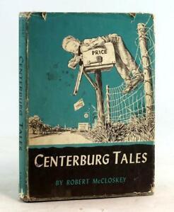 Robert McCloskey 1st Edition 1951 Centerburg Tales Homer Price Sequel HC w/DJ