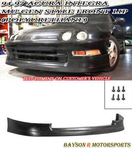 Mu-gen Style Front Lip (Urethane) Fits 94-97 Acura Integra 2/4dr