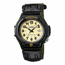 Casio FT-500WC-3B Forester Analog Military Green Nylon Cloth Watch