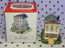 Liberty Falls Ah45 The Americana Collection City Reverend Watkin's House Mint