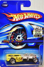 HOT WHEELS 2006  #152 WAY 2 FAST YELLOW FACTORY SEALED