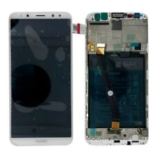 Huawei Display LCD Frame for Mate 10 Lite Service Pack 02351qxu White Battery
