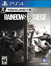Tom Clancy's Rainbow Six Siege [PlayStation 4 PS4, Online Multiplayer Team FPS]