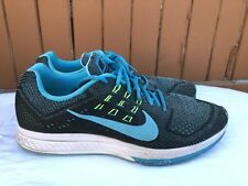 NIKE Air Zoom Structure 18 Men's 13 Blue Lagoon Shoes $120 683731-401