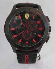 Scuderia Ferrari Scuderia XX 0830138 Chronograph Black Case Silicone Date Watch