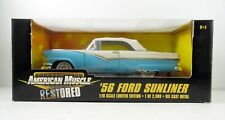 1956 Ford Sunliner Convertible 1:18 Scale American Muscle