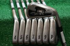 CALLAWAY X-22 TOUR STEEL IRON SET SENIOR FLEX IRONS PROJECT X 3-PW  0702877