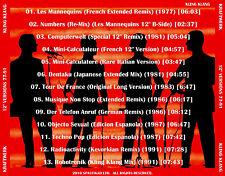"KRAFTWERK   ""Original 12"" Mixes - 1977-1991""   (13 Mixes!)  Daft Punk"