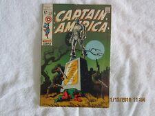 Captain America #113   Classic Jim Steranko cover