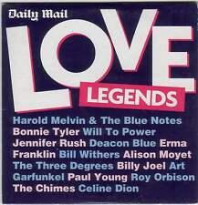LOVE LEGENDS - PROMO CD: BONNIE TYLER, ALISON MOYET, BILLY JOEL, ROY ORBISON ETC