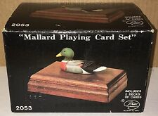 "Vintage ""Mallard Playing Card Set"" 2-Decks Unopened ~ 1981, NEW #2053 NICE!!!!!!"