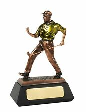 Golf Awards - THE MATCH WINNER Plated Resin Figures (Highly Detailed - 3 Sizes)