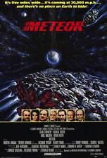 METEOR Movie POSTER 27x40 Sean Connery Natalie Wood Karl Malden Brian Keith