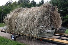 Duck Blind Grass Camo Boat Kit (14' to 16' boat) - SM SHEET
