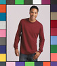 Gildan Adult Long Sleeve Heavy Cotton T-Shirt Blank Tee Top Shirts S-3XL G540
