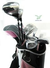 ORLIMAR LADIES ALL GRAPHITE ASPECT PINK COMPLETE GOLF SET BAG+HYBDS+IRONS+PUTTER